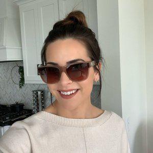 Pink Chanel 5386 Sunglasses